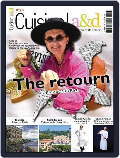 Cuisine A&D English Version July 22nd, 2015 Digital Back Issue Cover