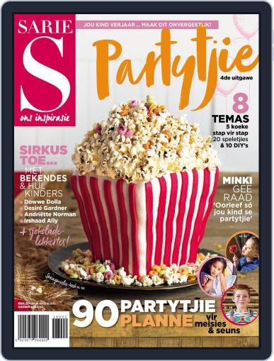 Sarie Partytjie Magazine (Digital) August 28th, 2018 Issue Cover