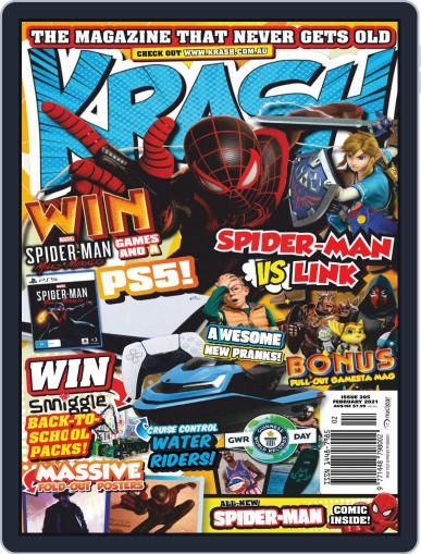 KRASH Magazine (Digital) February 1st, 2021 Issue Cover