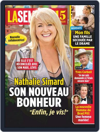 La Semaine Magazine (Digital) September 18th, 2020 Issue Cover