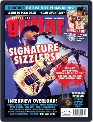 Australian Guitar Magazine (Digital) August 3rd, 2020 Issue Cover