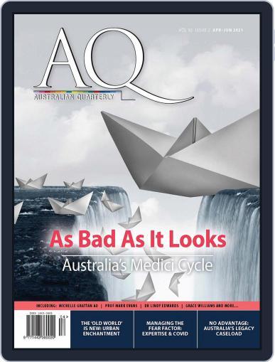 AQ: Australian Quarterly Magazine (Digital) April 1st, 2021 Issue Cover