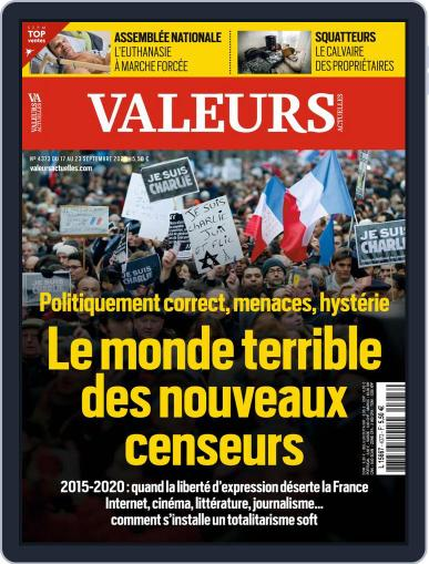 Valeurs Actuelles Magazine (Digital) September 17th, 2020 Issue Cover