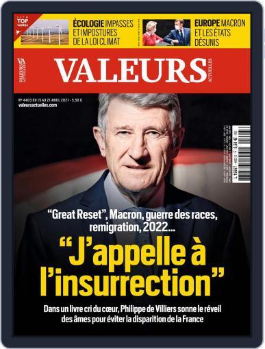 Valeurs Actuelles Magazine (Digital) April 15th, 2021 Issue Cover