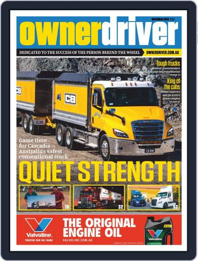 Owner Driver Magazine (Digital) November 1st, 2020 Issue Cover
