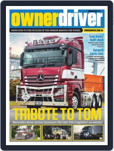 Owner Driver Magazine (Digital) February 1st, 2021 Issue Cover