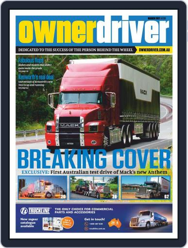 Owner Driver Magazine (Digital) March 1st, 2021 Issue Cover
