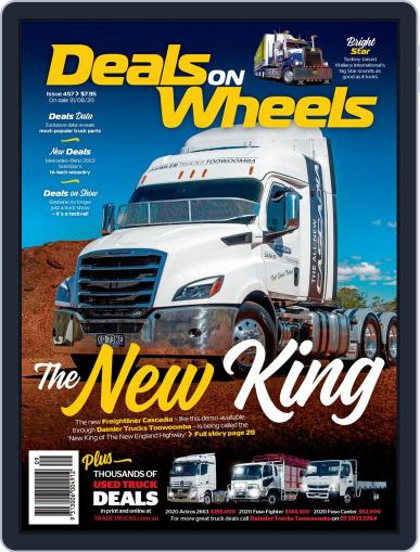 Deals On Wheels Australia Magazine (Digital) August 31st, 2020 Issue Cover