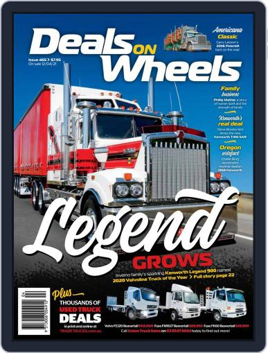 Deals On Wheels Australia Magazine (Digital) April 12th, 2021 Issue Cover