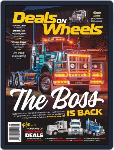 Deals On Wheels Australia Magazine (Digital) January 11th, 2021 Issue Cover