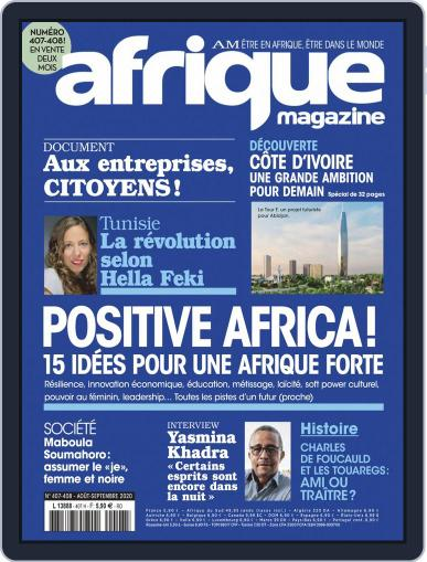 Afrique (digital) Magazine August 1st, 2020 Issue Cover