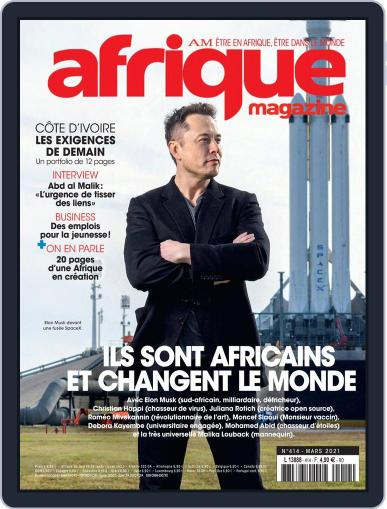 Afrique (digital) Magazine March 1st, 2021 Issue Cover