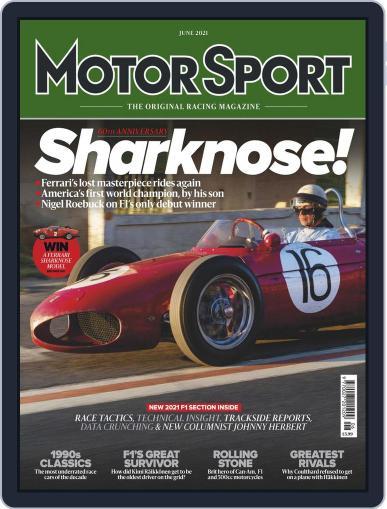 Motor sport Magazine (Digital) June 1st, 2021 Issue Cover
