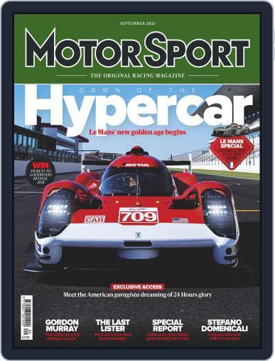 Motor sport Magazine (Digital) September 1st, 2021 Issue Cover