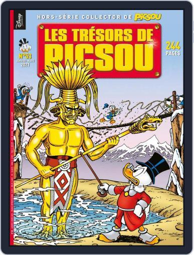 Les Trésors de Picsou Magazine (Digital) January 1st, 2021 Issue Cover