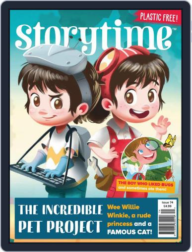 Storytime Magazine (Digital) November 1st, 2020 Issue Cover