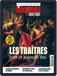 L'Express Grand Format (Digital) Subscription October 1st, 2016 Issue