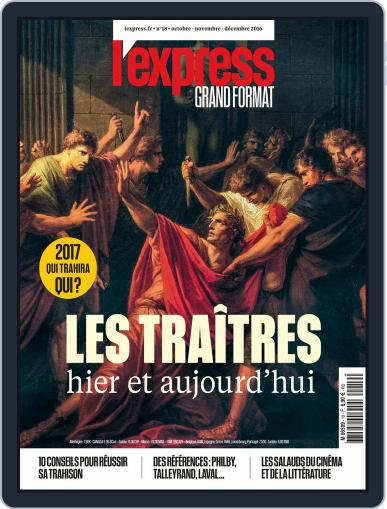 L'Express Grand Format October 1st, 2016 Digital Back Issue Cover