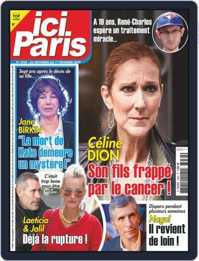 Ici Paris Magazine (Digital) November 25th, 2020 Issue Cover