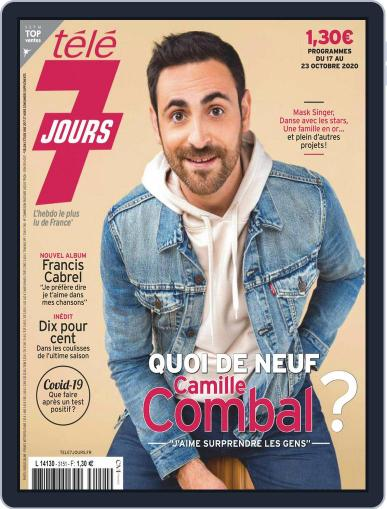 Télé 7 Jours Magazine (Digital) October 17th, 2020 Issue Cover