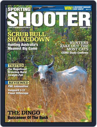 Sporting Shooter Magazine (Digital) November 1st, 2020 Issue Cover