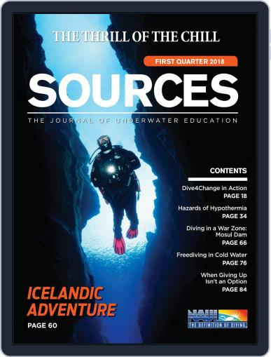 Sources January 1st, 2018 Digital Back Issue Cover