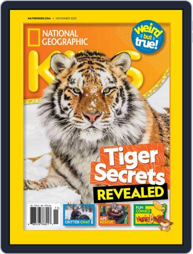 National Geographic Kids Magazine (Digital) November 1st, 2020 Issue Cover