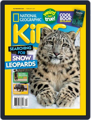 National Geographic Kids Magazine (Digital) February 1st, 2021 Issue Cover