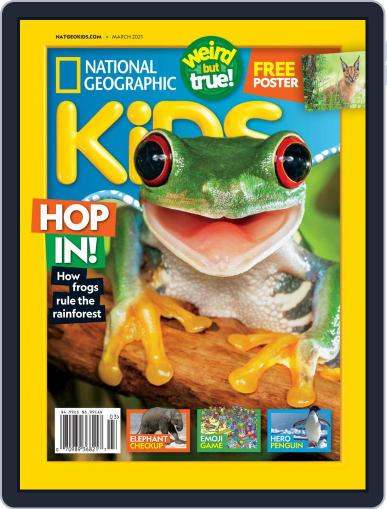 National Geographic Kids Magazine (Digital) March 1st, 2021 Issue Cover