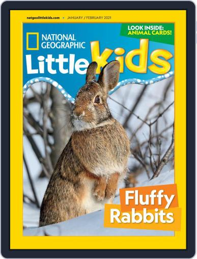 National Geographic Little Kids Magazine (Digital) January 1st, 2021 Issue Cover