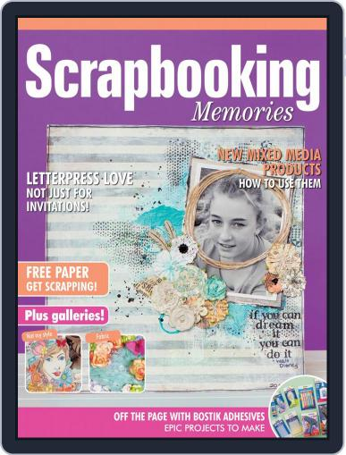 Scrapbooking Memories Magazine (Digital) July 1st, 2020 Issue Cover