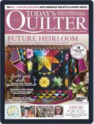 Today's Quilter Magazine (Digital) Subscription November 1st, 2020 Issue