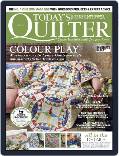Today's Quilter Magazine (Digital) April 1st, 2021 Issue Cover