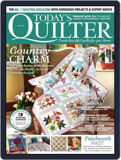 Today's Quilter Magazine (Digital) June 1st, 2021 Issue Cover