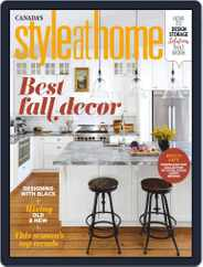 Style At Home Canada Magazine (Digital) Subscription October 1st, 2020 Issue