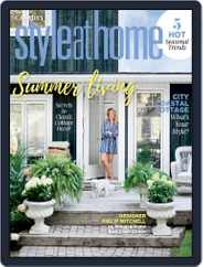 Style At Home Canada Magazine (Digital) Subscription June 1st, 2021 Issue