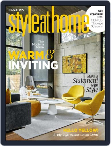 Style At Home Canada Magazine (Digital) March 1st, 2021 Issue Cover