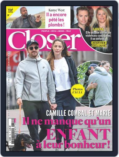 Closer France Magazine (Digital) September 25th, 2020 Issue Cover
