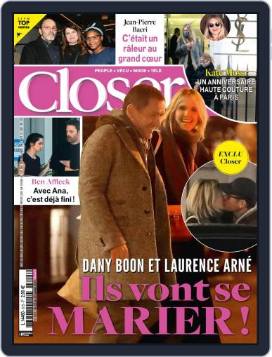 Closer France Magazine (Digital) January 22nd, 2021 Issue Cover