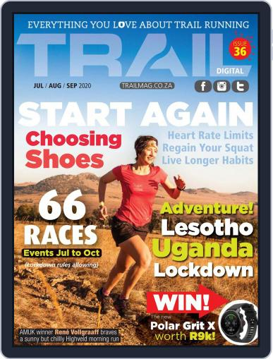 TRAIL South Africa Magazine (Digital) June 29th, 2020 Issue Cover