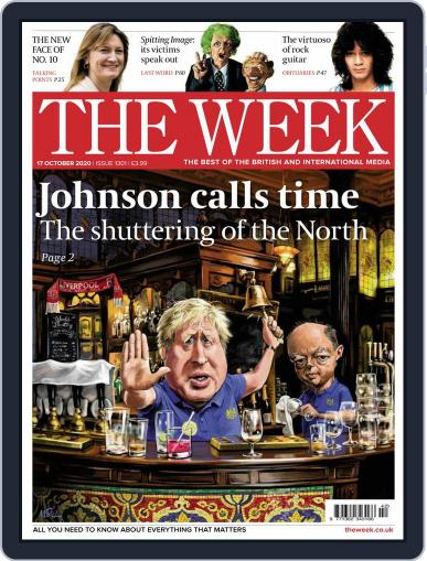 The Week United Kingdom Magazine (Digital) October 17th, 2020 Issue Cover