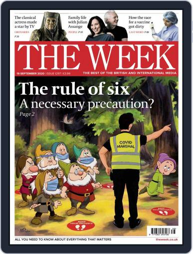The Week United Kingdom Magazine (Digital) September 19th, 2020 Issue Cover