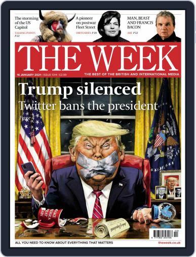 The Week United Kingdom Magazine (Digital) January 16th, 2021 Issue Cover