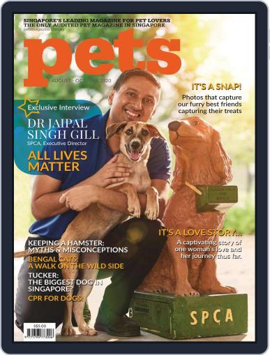 Pets Singapore Magazine (Digital) August 1st, 2020 Issue Cover