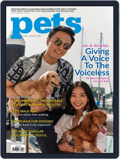 Pets Singapore Magazine (Digital) June 1st, 2021 Issue Cover
