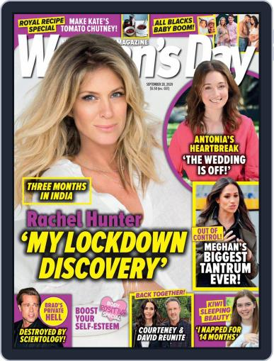 Woman's Day Magazine NZ Magazine (Digital) September 28th, 2020 Issue Cover