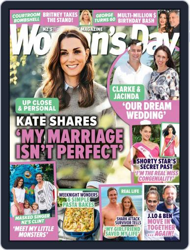 Woman's Day Magazine NZ Magazine (Digital) May 20th, 2021 Issue Cover