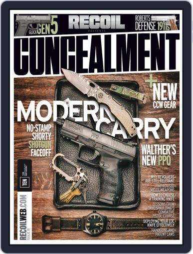 RECOIL Presents: Concealment Magazine (Digital) October 1st, 2017 Issue Cover