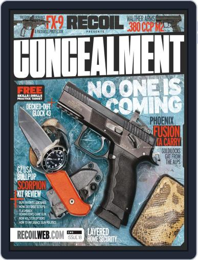 RECOIL Presents: Concealment Magazine (Digital) June 30th, 2020 Issue Cover