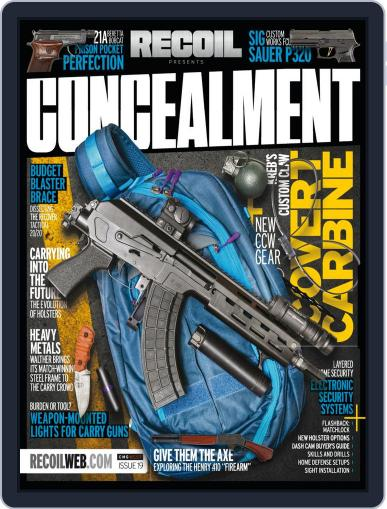 RECOIL Presents: Concealment Magazine (Digital) September 15th, 2020 Issue Cover